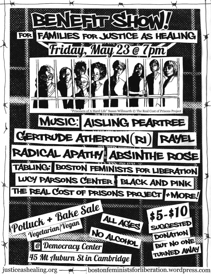 Benefit Show Flyer May 23